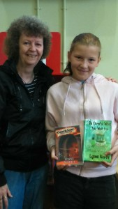 Meeting the lovely Cydney at Bolton Central Library!